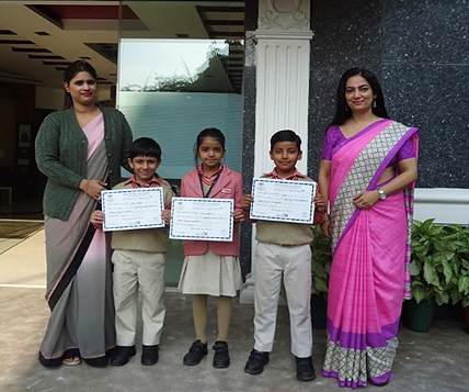 VBPS students win Inter School Talking Puppets Competition