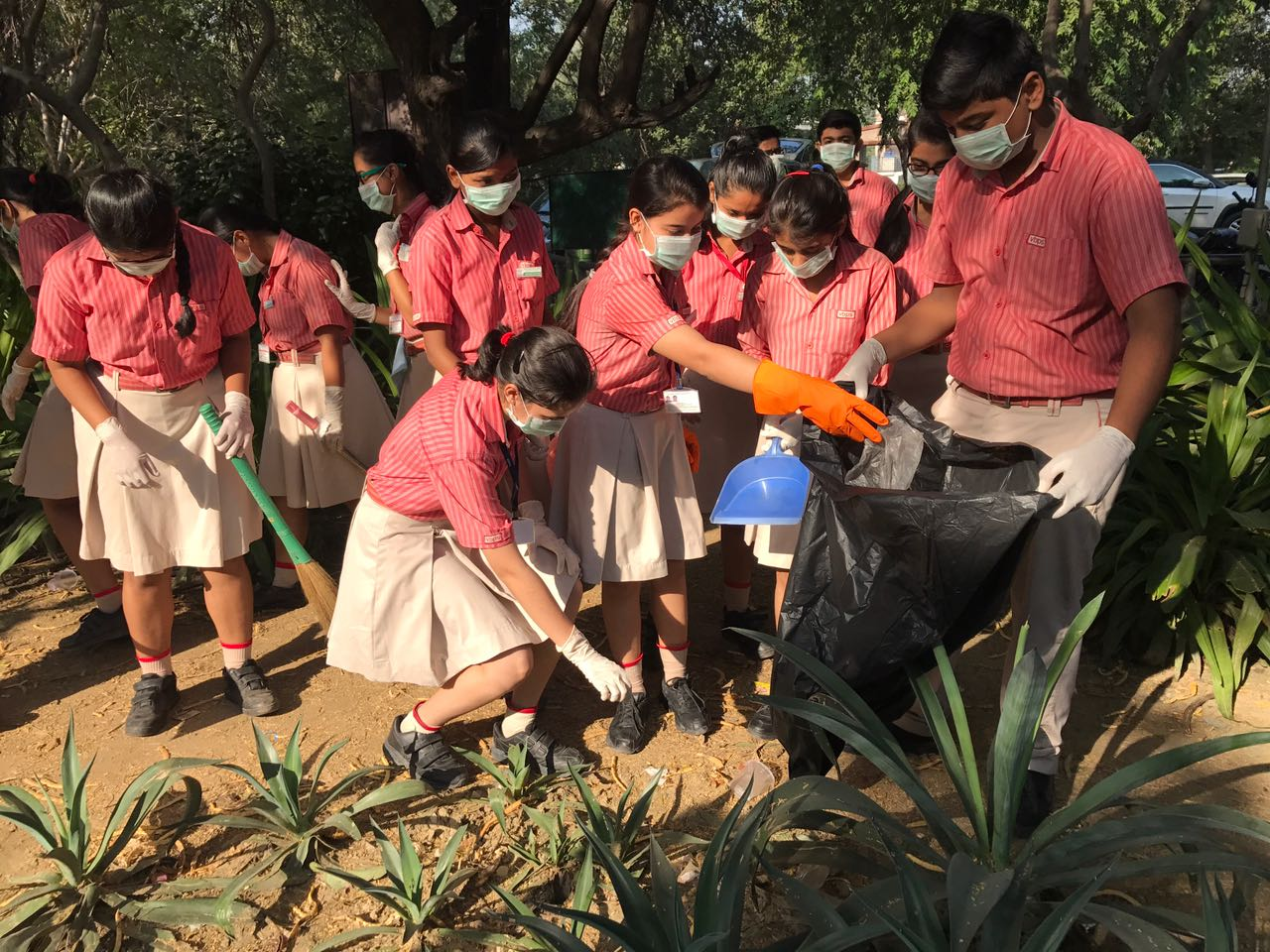 V-Care Initiative Cleanliness Drive