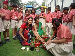 Plantation of a Sapling- Earth Months Activity
