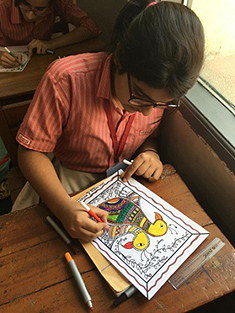 FOLK  ART – Madhubani Painting