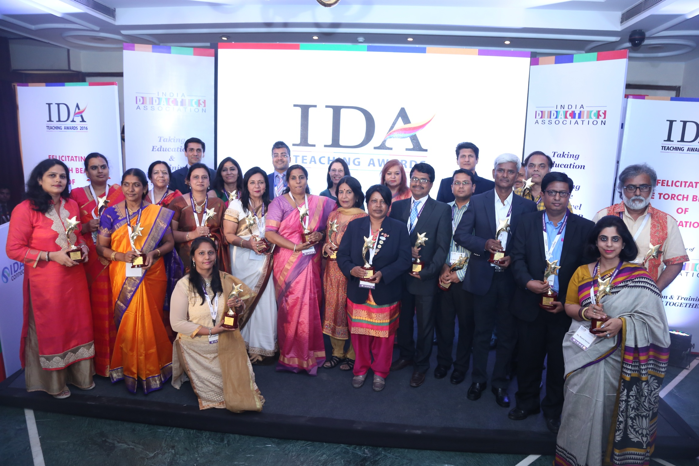 IDA TEACHING AWARDS-  2016