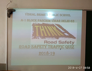 Road Safety Week (2018-19)