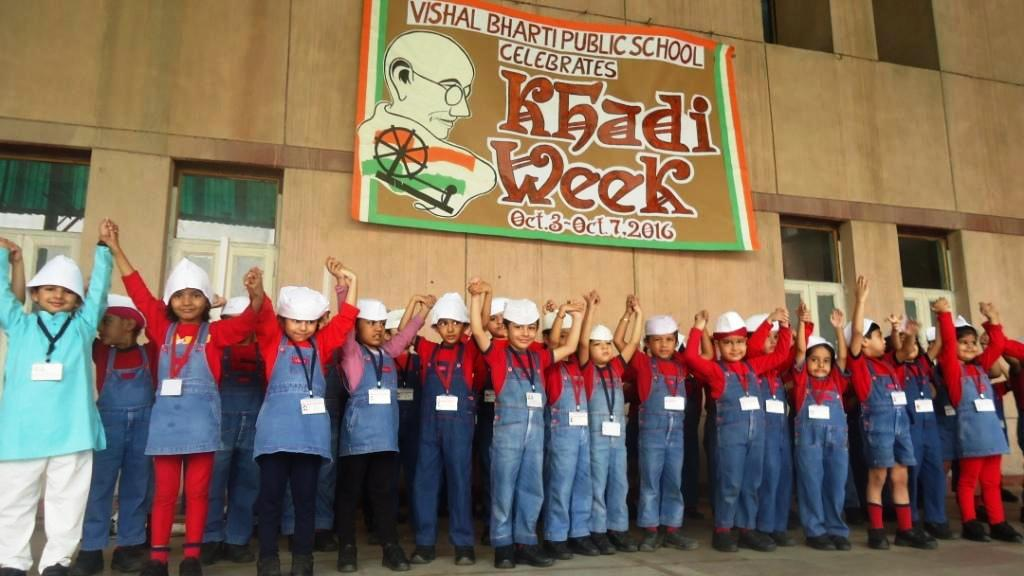 The Thread Of Swaraj – Khadi Week Celebrations